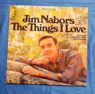 Jim Nabors  The Things I Love Lp Album 1967 Columbia Cs 9503