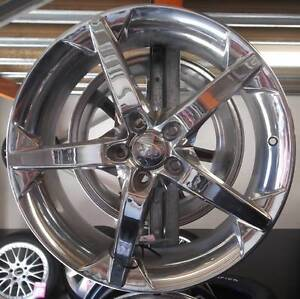 "19"" Chrome XHP For Large Front Wheel Drive Cars Toowoomba Toowoomba City Preview"