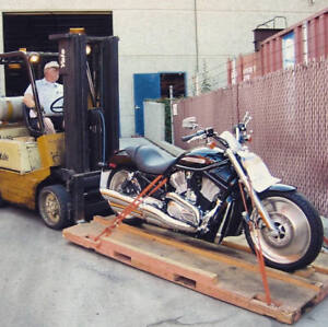 Motorcycle Shipping to and from Calgary Alberta