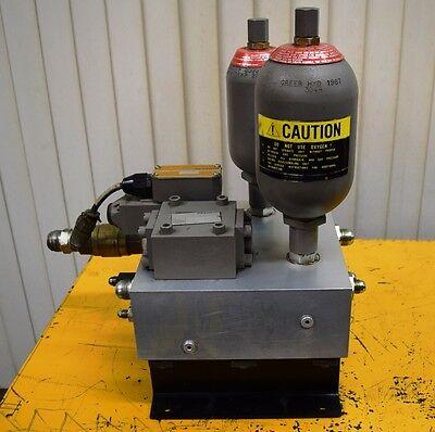 Instron A440-39 20 Gpm 3340-111 Hydraulic Service Fluid Control Manifold Hsm