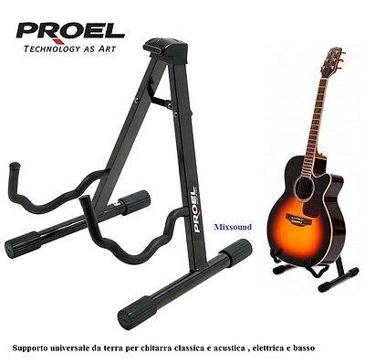 PROEL FC80 SUPPORTO STAND REGGICHITARRA UNIVERSALE PER CHITARRA CLASSICA ACUSTIC