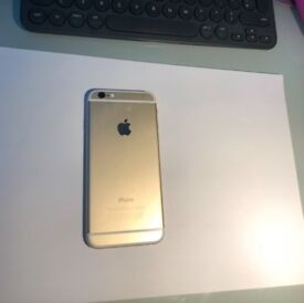 White and Gold iPhone 6 for Sale (used)