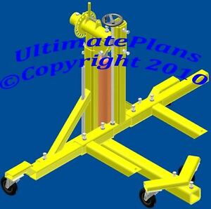 ROTISSERIE PLANS ULTIMATE Auto Car Body *FREE SHIPPING*