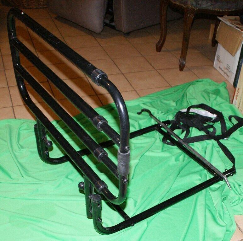 Barrière de lit escamotable - sécurité anti chutes personnes agées - 3 réglages