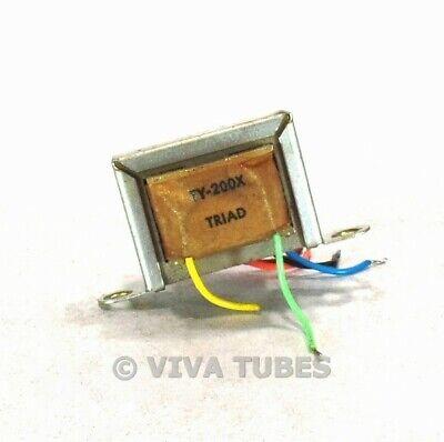 Photo Triad TY-200X Transistor Power Supply Transformer Short Leads 3 VDC 20 mA