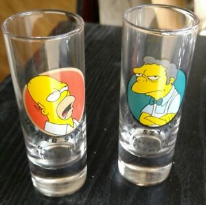 Simpsons, Harley Davidson and Other Shot Glasses