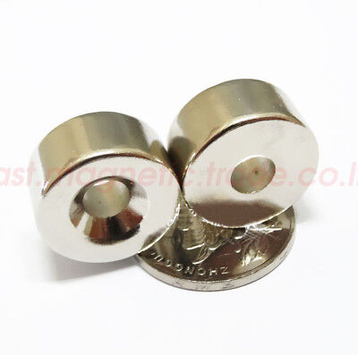 Wholesale 20mm X 10mm Countersunk5mm Disc Hole Rare Earth Neodymium Magnets N50