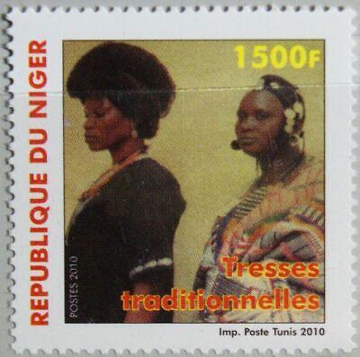 NIGER 2010 2014 Damenfrisuren traditionelle Zöpfe Hair Fashion Hair Cuts MNH