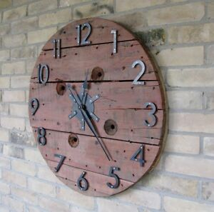Cable Spool Clocks Kitchener / Waterloo Kitchener Area image 5