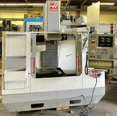 Haas Vf-oe Cnc Vertical Machining Center - Age 2000 See Video