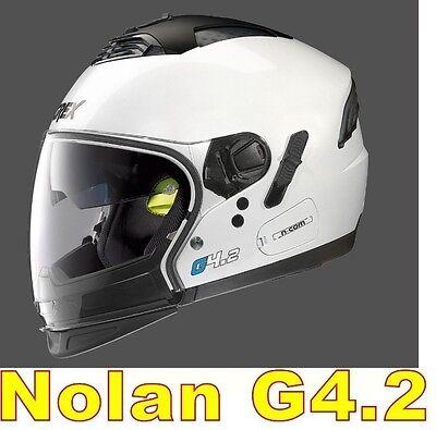 """CASCO NOLAN GREX G4.2 N-COM  EX N43E AIR BIANCO COL.4 Tg. """" L """" WHITE"""