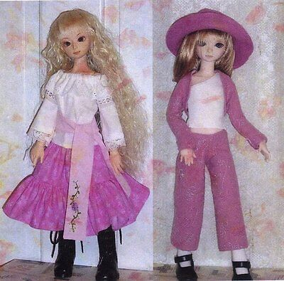 ball jointed fashion  doll oufit sewing  PATTERN 42cm msd BJD
