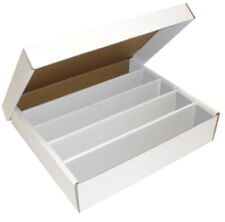 5 Max Pro 5000 ct Cardboard Baseball Card Super Monster 5-Row Storage Boxes