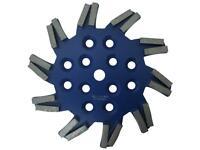 zu Blastrac Diamant-Schleifteller 250 mm Sternform passend u.a