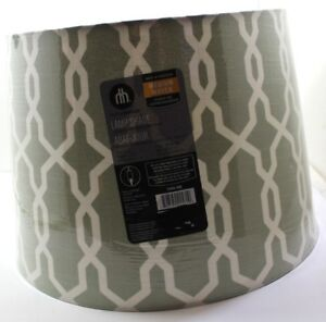 New!!  4x Home Trend Light Green with Link Design Lamp Shades