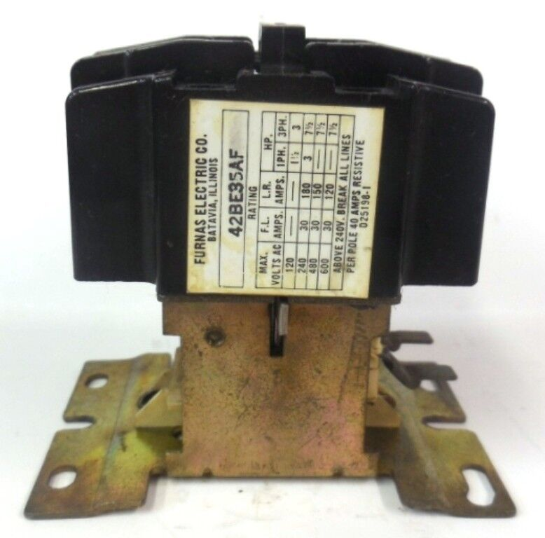 FURNAS ELECTRIC CO., 42BE35AF, CONTACTOR