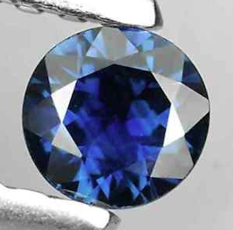 Natural Blue Sapphire AAA Round Faceted Loose Gemstones (3mm - 4mm)