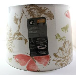 New!! 2x Butterfly with white background Lamp Shades