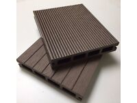 HD Composite Decking Boards 3.6m Grey/Charcoal/Brown/Light Brown