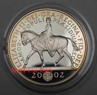 2002 Great Britain 5 Pounds Silver Collector Coin