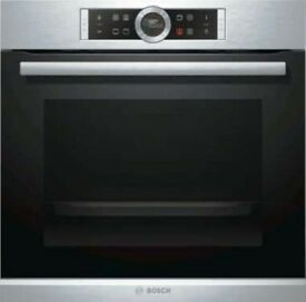 Bosch HBG674BS1B 71 Litre Multifunction Electric Built-in Single Oven Stainless Steel