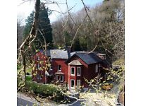 Lledr House Hostel in Wales- 5 nights in Summer Holidays