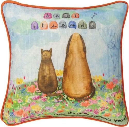 BEST FRIENDS WORD PILLOW