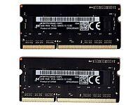 Micron - 2 x 4GB MT8KTF51264HZ-1G9E2 1RX8 PC3L-14900S-13-13-B2