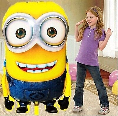 Huge Mega Balloons Los Minions Birthday Party City Supplies Decorations Wedding
