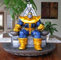 Thanos on throne statue - Bowen Designs - Very rare - New!
