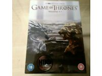 *** Game of Thrones Seasons 1 - 7 DVDs *** Still Sealed ***