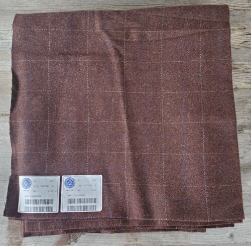 Vintage Hart Schaffner Superfine Wool Suiting Fabric - New Old Stock 4+ Yards