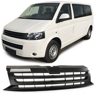 Sportgrill Kühlergrill für VW T5 Facelift Transporter Multivan Caravelle schwarz