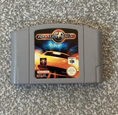 Roadsters Nintendo N64 PAL Cartridge Only *tested*