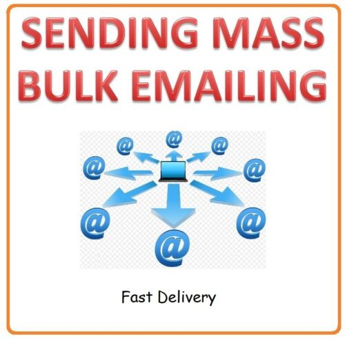 MASS EMAIL BULK EMAIL SENDING for Email Campaign