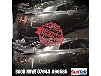SUNTEK CARBON Window Tinting, Car Wrapping, HiD Kit & Car Audio *LIFETIME WARRANTEE*