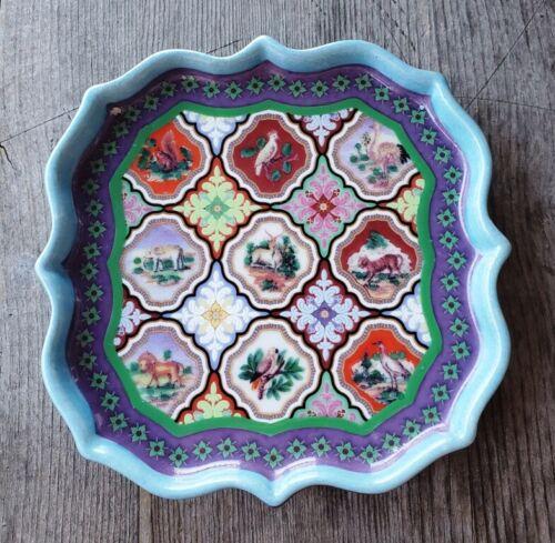 Jean Dange Paris Porcelain Dresser Tray / Trinket Dish