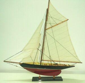 maquette en bois bateau voilier pen duick 50cm ebay. Black Bedroom Furniture Sets. Home Design Ideas