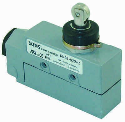 Suns Sn9d-n22-a Sealed Roller Plunger Dpdt Limit Switch 2no2nc Bze6-2rn80