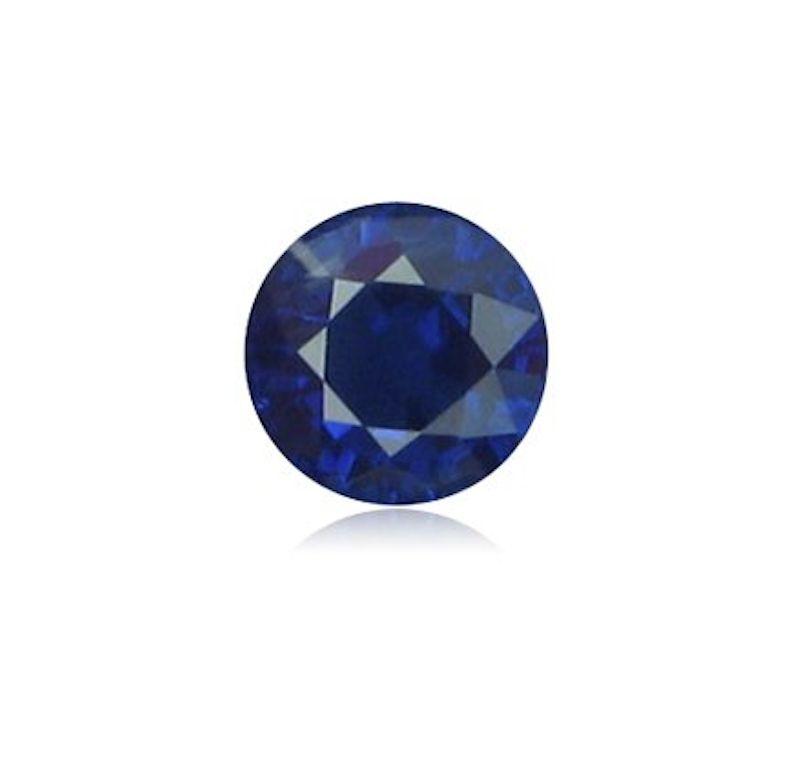 Natural Blue Sapphire Round Diamond Cut Lot (1mm - 3mm) Loose Gemstones