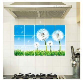 Kitchen DIY Removable Aluminum Foil Oil Proof Stickers Decal Wembley Cambridge Area Preview