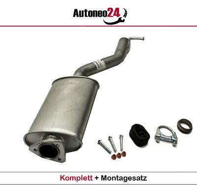 Auspuff-Endtopf für Mercedes C-Klasse C200 C220 W203 T203 S203 00-07 2.2 Cdi TD