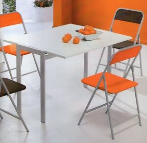 Tavolo tavoli sedie moderno cucine cucina sedia design metallo moderni legno ebay - Tavoli cucina moderni ...