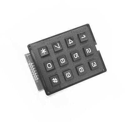1pcs 4 X 3 Matrix Array 12 Keys 43 Switch Keypad Keyboard Module For Arduino S