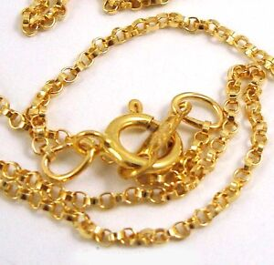 18-14k-gold-filled-Rollo-rolo-finish-chain-necklace-w-spring-clasp-made-in-USA
