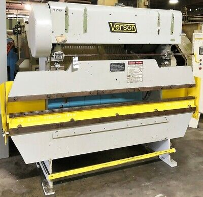 Verson 8 X 25ton Press Brake