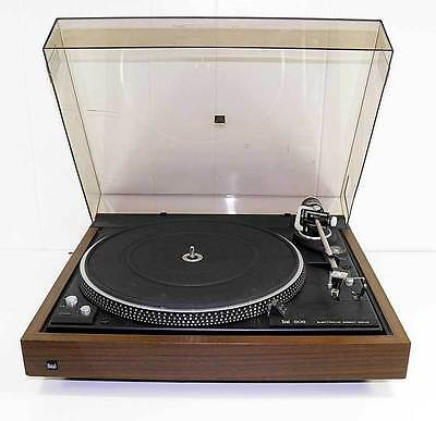 Dual CS-606 Direct Drive Semi Automatic Stereo Turntable Works!