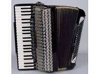 Hohner Atlantic IV De-Luxe Piano Accordion 120 Bass 4 Voice*** with case***