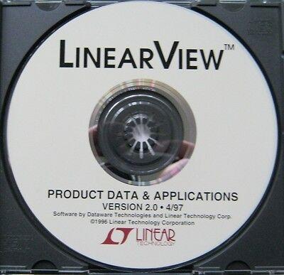 LINEAR TECH DATA APP CD