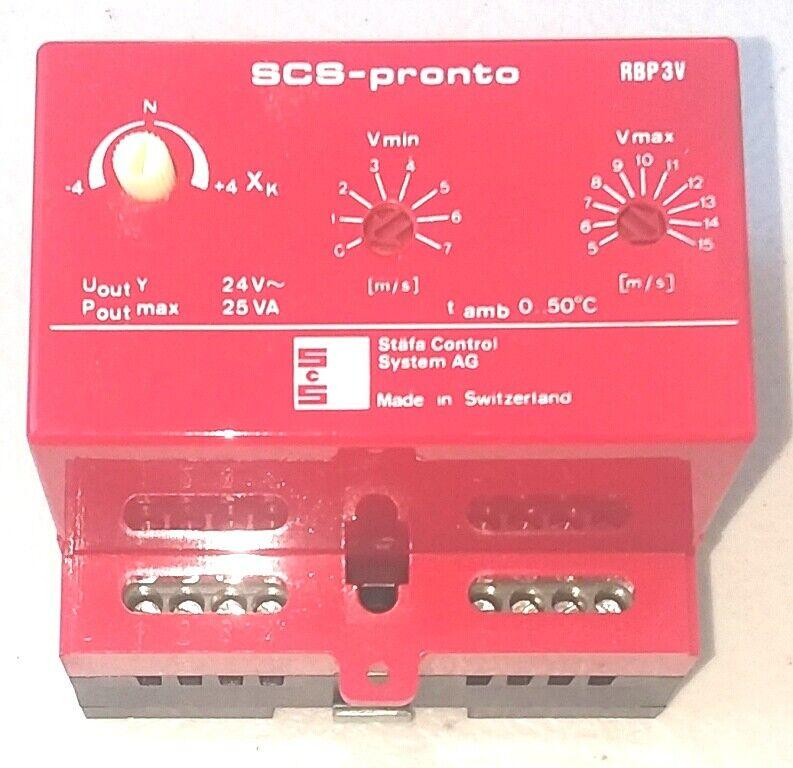 Staefa Control SCS-Pronto RBP3V System AG control